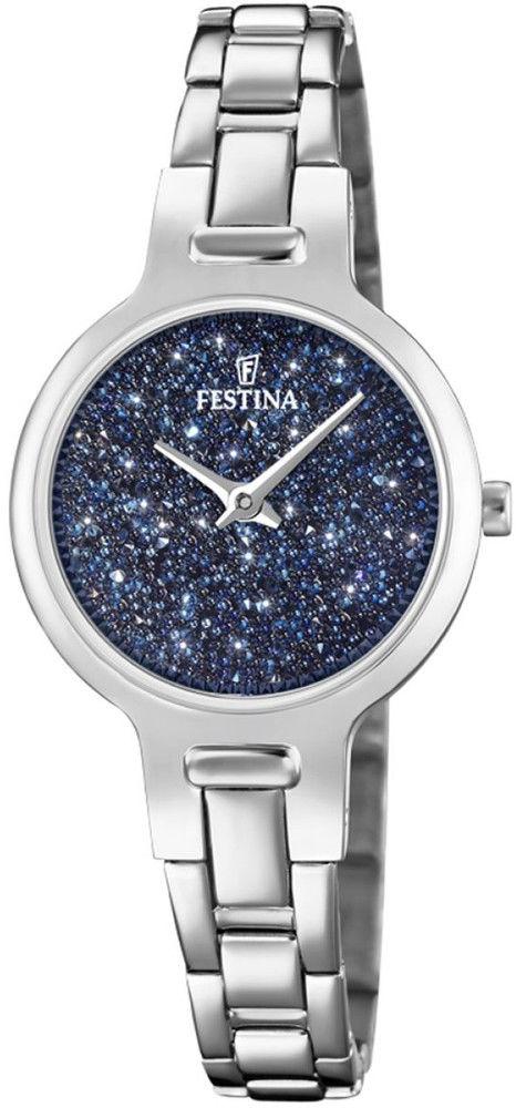 Zegarek Festina F20379-2 Mademoiselle Swarovski - CENA DO NEGOCJACJI - DOSTAWA DHL GRATIS, KUPUJ BEZ RYZYKA - 100 dni na zwrot, możliwość wygrawerowania dowolnego tekstu.