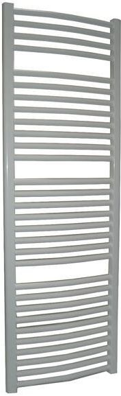 Grzejnik łazienkowy york - wykończenie zaokrąglone, 500x1500, biały/ral