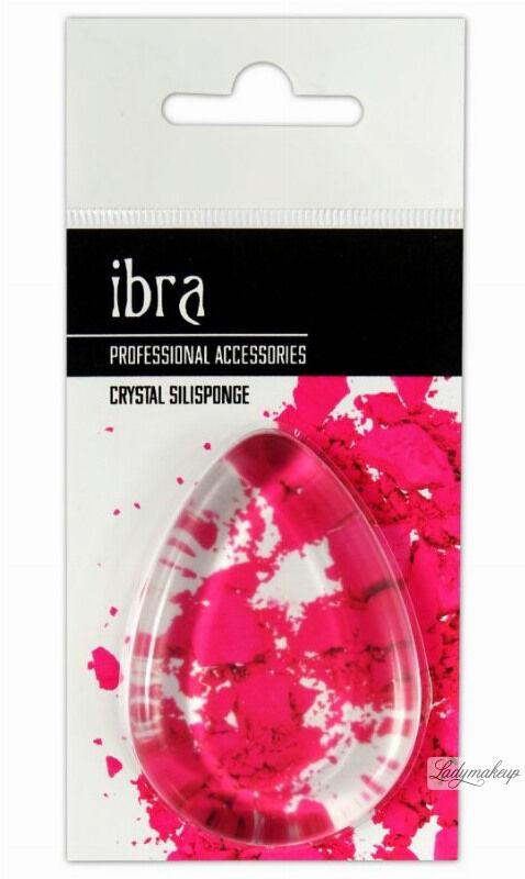 Ibra - Crystal Silisponge - Silikonowa gąbka do aplikacji kosmetyków