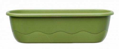 Doniczka 15L samonawadniająca 80x20x18cm Zielona MARETA