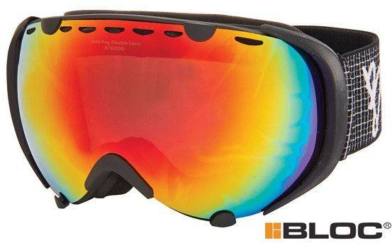 Gogle narciarskie BLOC python py15