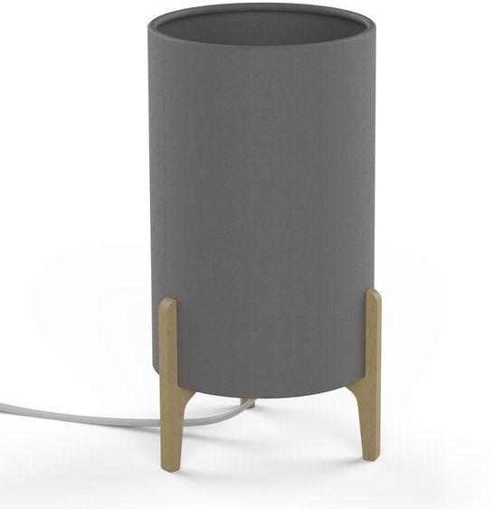 Lampa stołowa do sypialni ROCKET GRAY szary
