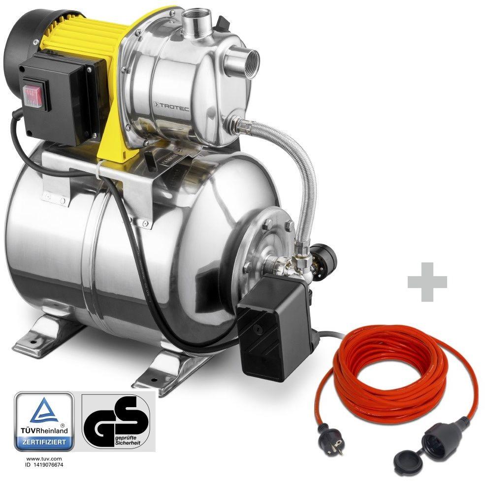 Hydrofor TGP 1025 ES ES + Przedłużacz jakościowy 15 m / 230 V / 1,5 mm