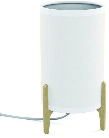 Lampa stołowa do sypialni ROCKET WHITE biały