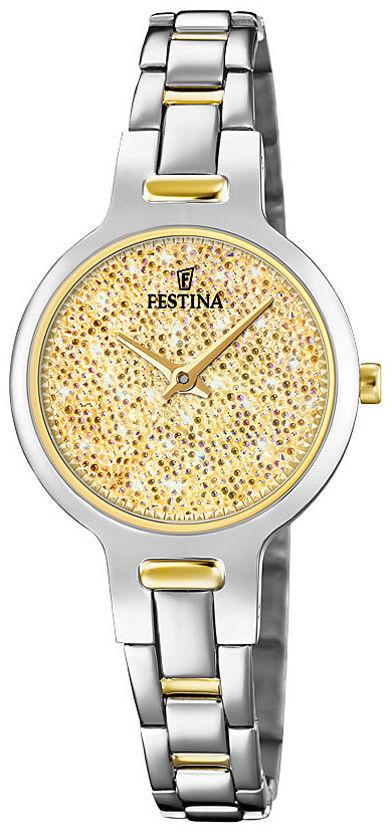 Zegarek Festina F20380-2 Mademoiselle Swarovski - CENA DO NEGOCJACJI - DOSTAWA DHL GRATIS, KUPUJ BEZ RYZYKA - 100 dni na zwrot, możliwość wygrawerowania dowolnego tekstu.