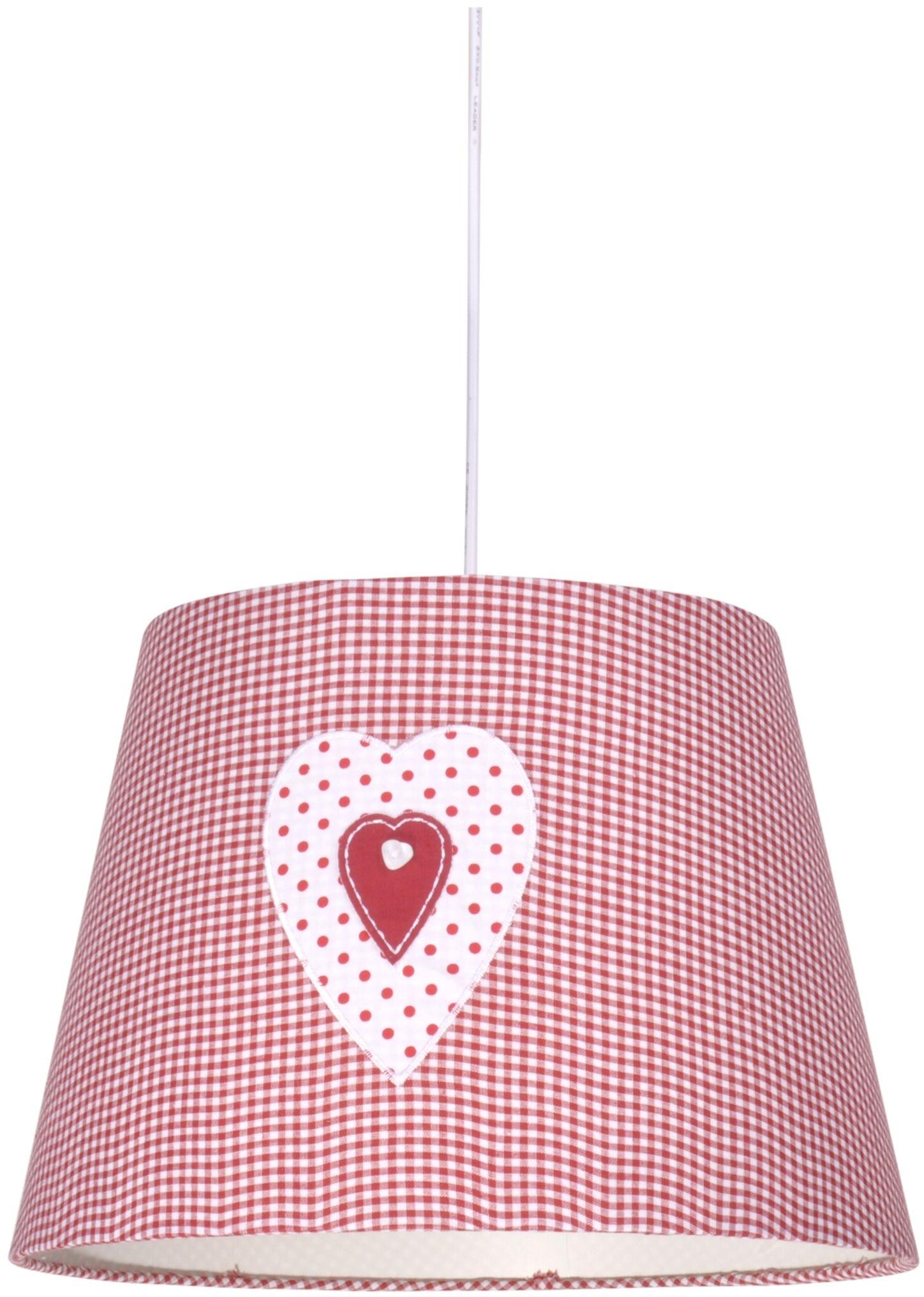 Candellux SWEET 31-07179 lampa wisząca abażur z decorem różowy 1X60W E27 35 cm