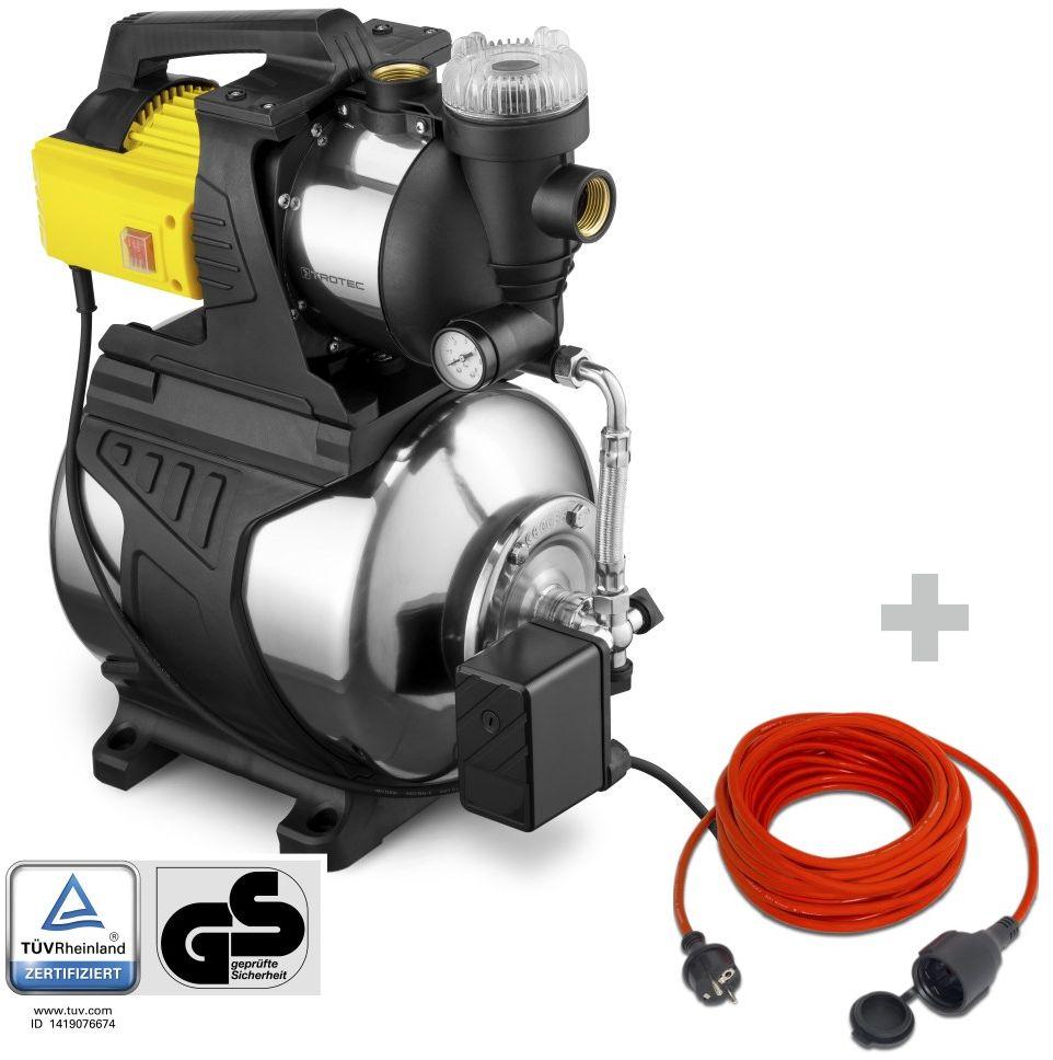 Hydrofor TGP 1050 E + Przedłużacz jakościowy 15 m / 230 V / 1,5 mm