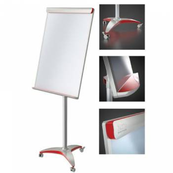 Flipchart 2X3 OFFICE PRO RED MOBILNY - X04044