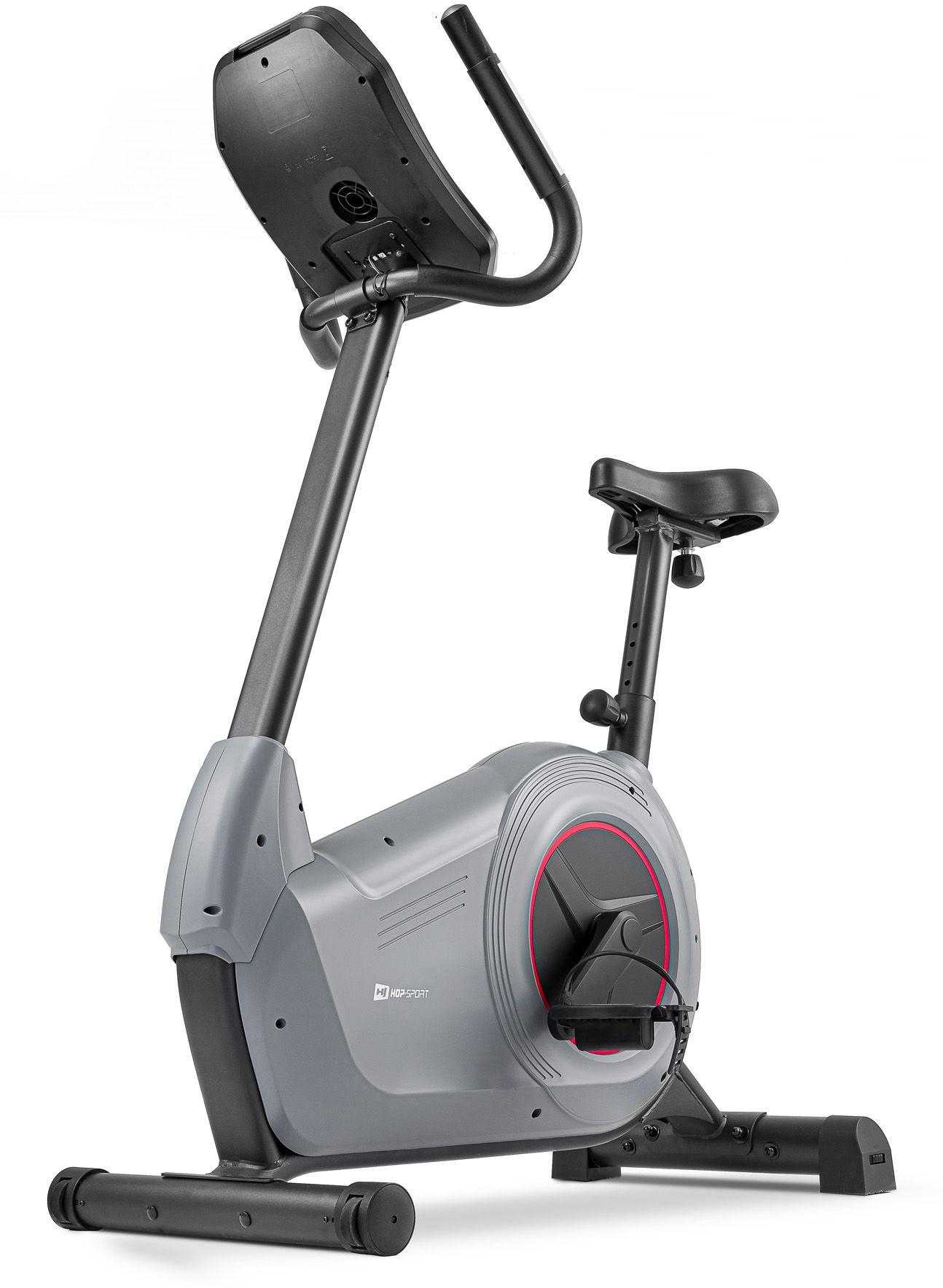 Rower elektryczno-magnetyczny HS-100H Solid Szary + mata