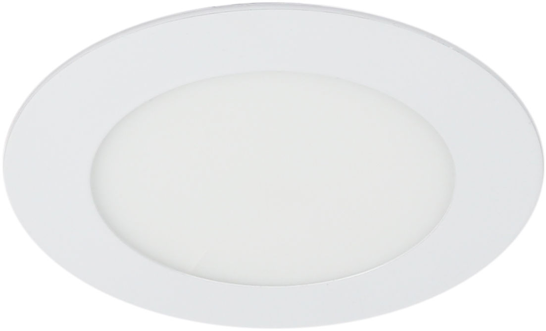 Candellux SP-03 WH 2245591 oprawa do wbudowania stropowa biała 9W LED 230V oczko sufitowe panel LED okrągła min.15,6cm