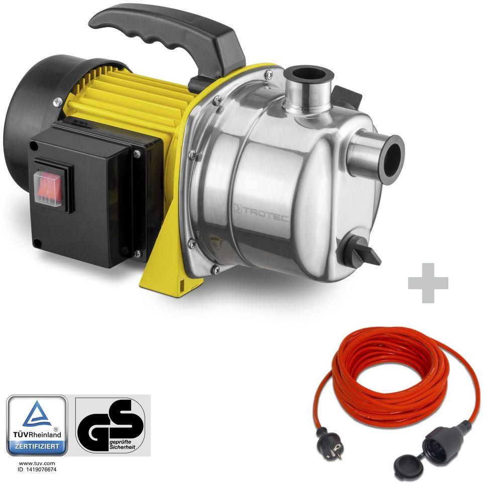Pompa ogrodowa TGP 1000 ES + Przedłużacz jakościowy 15 m / 230 V / 1,5 mm