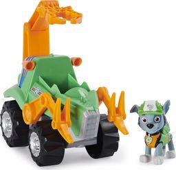PSI PATROL: Rocky z Pojazdem Ratunkowym Dino i Tajemniczym Dinozaurem