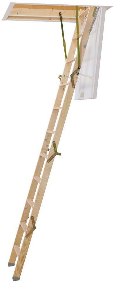 Schody strychowe CLICKFIX 36 92.5 x 60 cm Dolle
