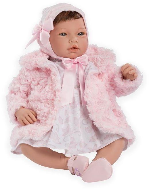 Hiszpańska lalka bobas Reborn Valentina - 46 cm