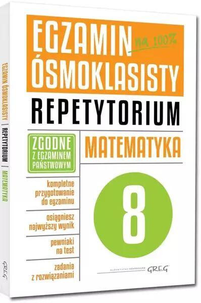 Egzamin ósmoklasisty Matematyka Repetytorium - Marlena Andrzejczak, Lucyna Butowska, Grażyna Kie