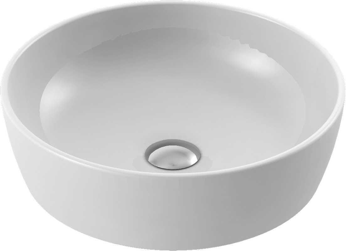 CeraStyle umywalka One, okrągła Ø46 cm 076100