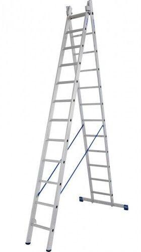KRAUSE Stabilo drabina rozstawno-przystawna 2x12 szczebli 133502 /123220