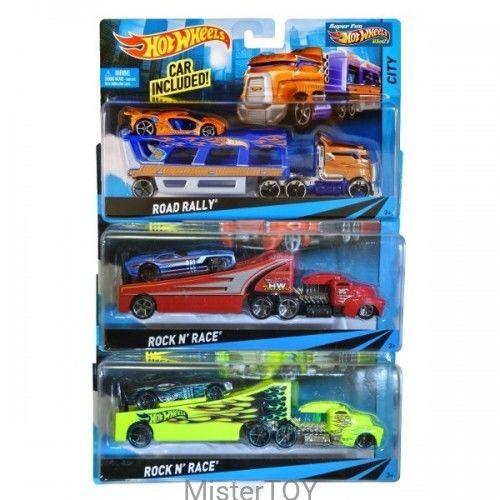 Hot Wheels - Ciężarówka Road Roller BDW54