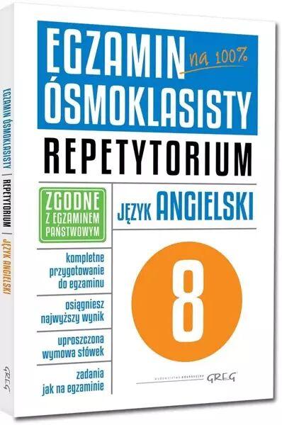 Egzamin ósmoklasisty Język angielski Repetytorium - Monika Kociołek