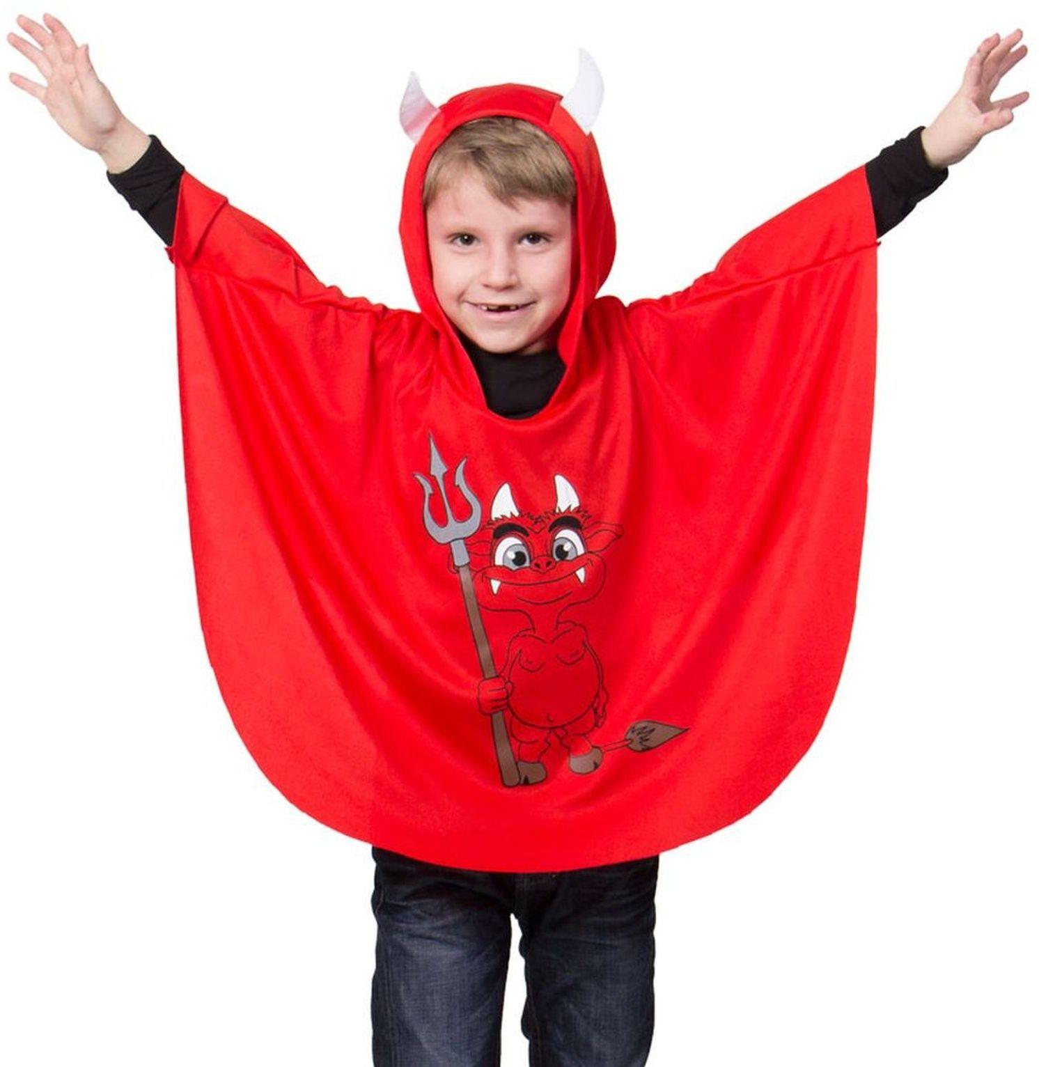 Folat 63257 peleryna diabła, kostium STD, rozmiar uniwersalny