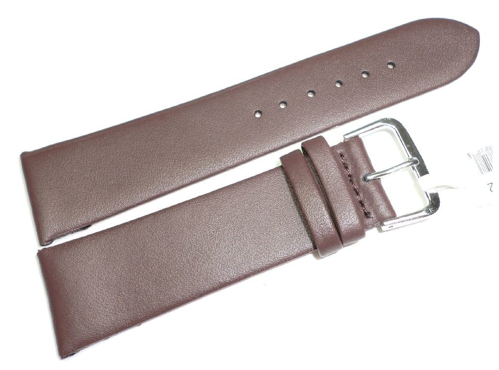 Skórzany pasek do zegarka 22 mm JVD R14902-22