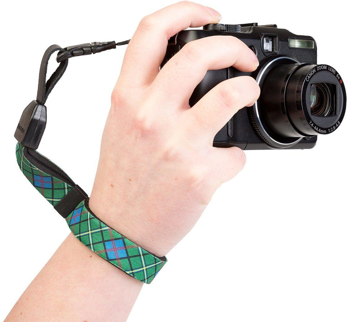 Optech USA 1821021 pasek do noszenia do aparatów cyfrowych, wzór szkocki