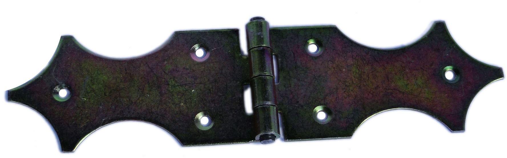 Zawias budowlany OZDOBNY 50x250mm