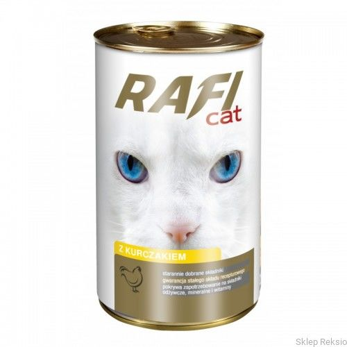 DOLINA NOTECI - RAFI CAT z kurczakiem - kawałki mięsne w sosie 415g