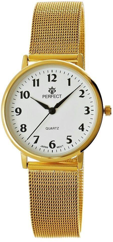Zegarek Damski Perfect B7394-3 Tarcza Biała