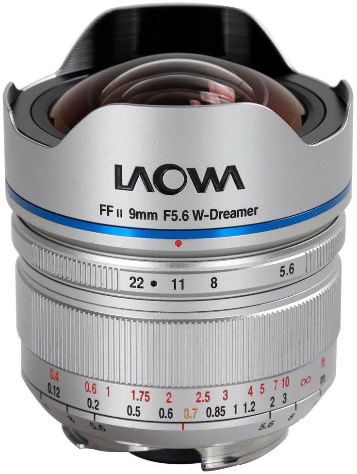 Obiektyw Venus Optics Laowa 9mm f/5,6 FF RL Leica M srebrny