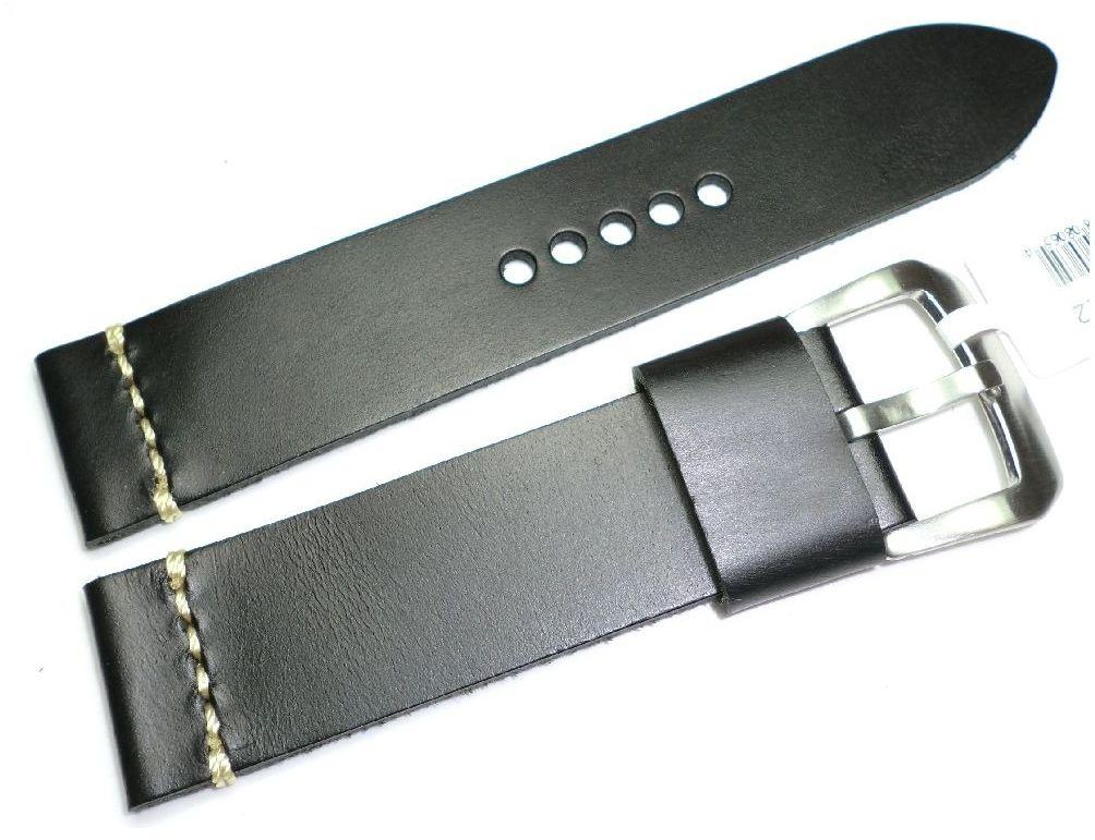 Skórzany pasek do zegarka 22 mm JVD R19701-22