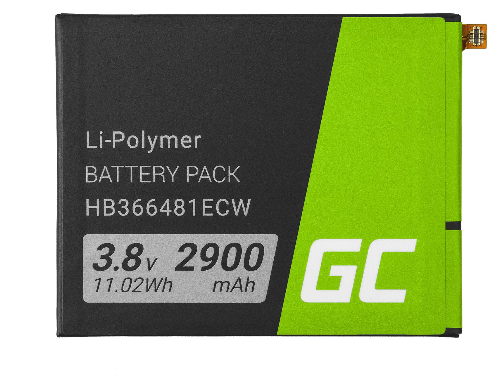 Bateria Green Cell HB366481ECW do telefonu Huawei P9 Lite Honor 8