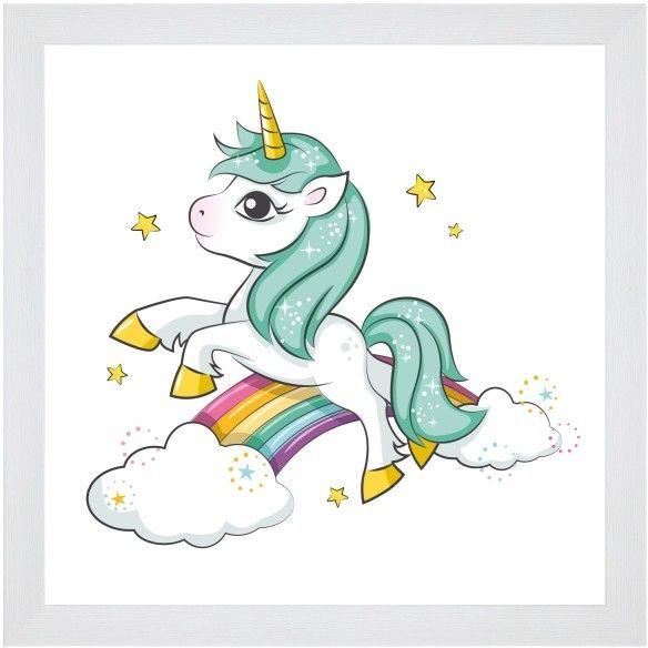 Obraz Unicorn 20 x 20 cm