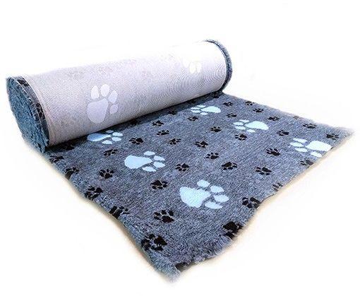 Canifel Posłanie Dry Bed - duże łapki, błękitno/czarne