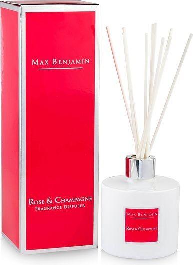 Dyfuzor zapachowy Max Benjamin - Rose & Champagne - 150ml