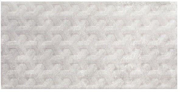 Dekor Phonique Paradyż 30 x 60 cm grys struktura A