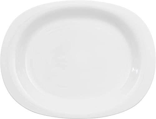 Villeroy & Boch New Cottage Basic półmisek 34 cm, porcelana premium, biała, 34 cm