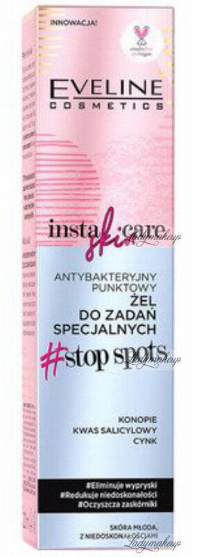 Eveline Cosmetics - INSTA SKIN CARE - Antybakteryjny punktowy żel do zadań specjalnych - 20 ml