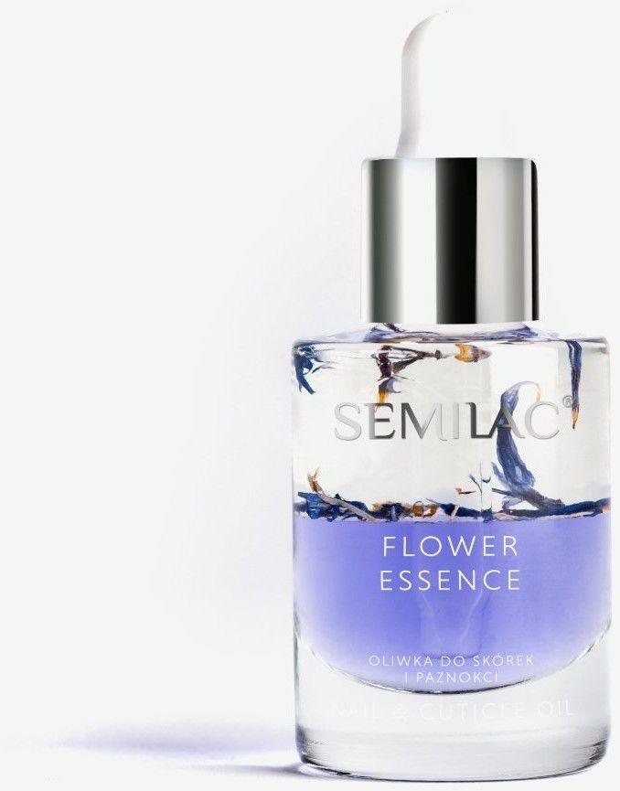 Semilac Care Flower Oliwka do skórek Violet Energy