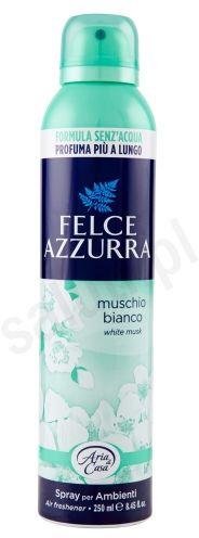 Felce Azzurra Białe piżmo - odświeżacz powietrza w sprayu (250ml) (Nowa Odsłona)