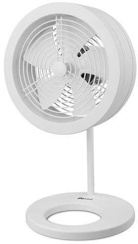 Designerski wentylator biurkowy Air Naturel Naos - Biały - Biały