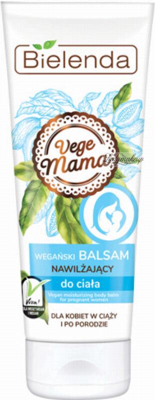 Bielenda - Vege Mama - Wegański balsam nawilżający do ciała - Dla kobiet w ciąży i po porodzie - 200 ml