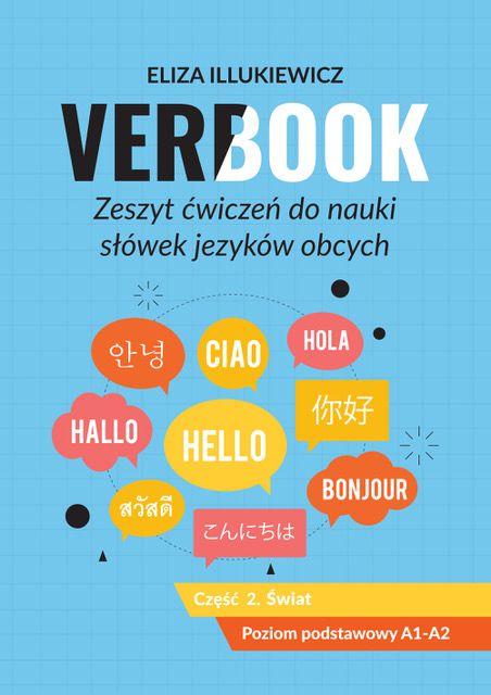 Verbook Zeszyt ćwiczeń do nauki słówek języków obcych Część 2 Świat ZAKŁADKA DO KSIĄŻEK GRATIS DO KAŻDEGO ZAMÓWIENIA