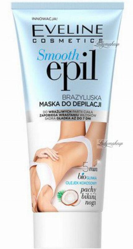 Eveline Cosmetics - SMOOTH EPIL - Brazylijska maska do depilacji dla kobiet - 175 ml