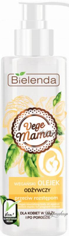 Bielenda - Vege Mama - Wegański olejek odżywczy przeciw rozstępom - Dla kobiet w ciąży i po porodzie - 200 ml