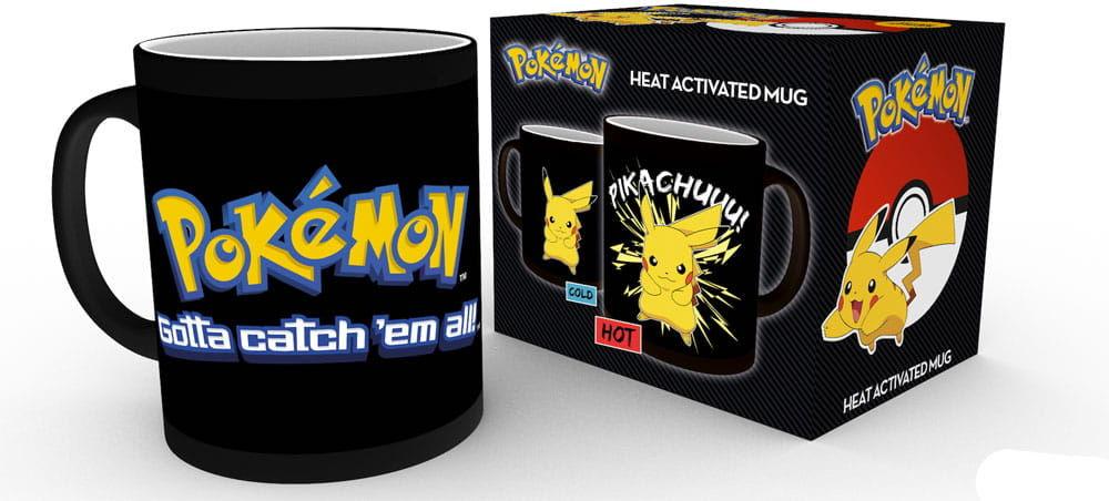 Kubek - Pokemon - Pikachu (termoaktywny)