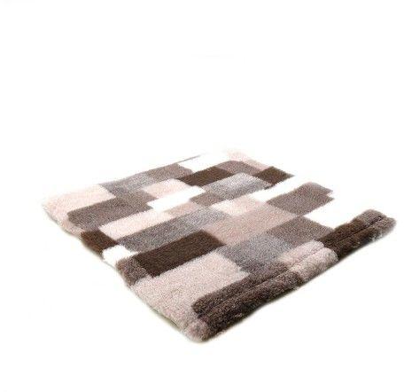 Canifel Posłanie Dry Bed - patchwork, kremowo/czekoladowy