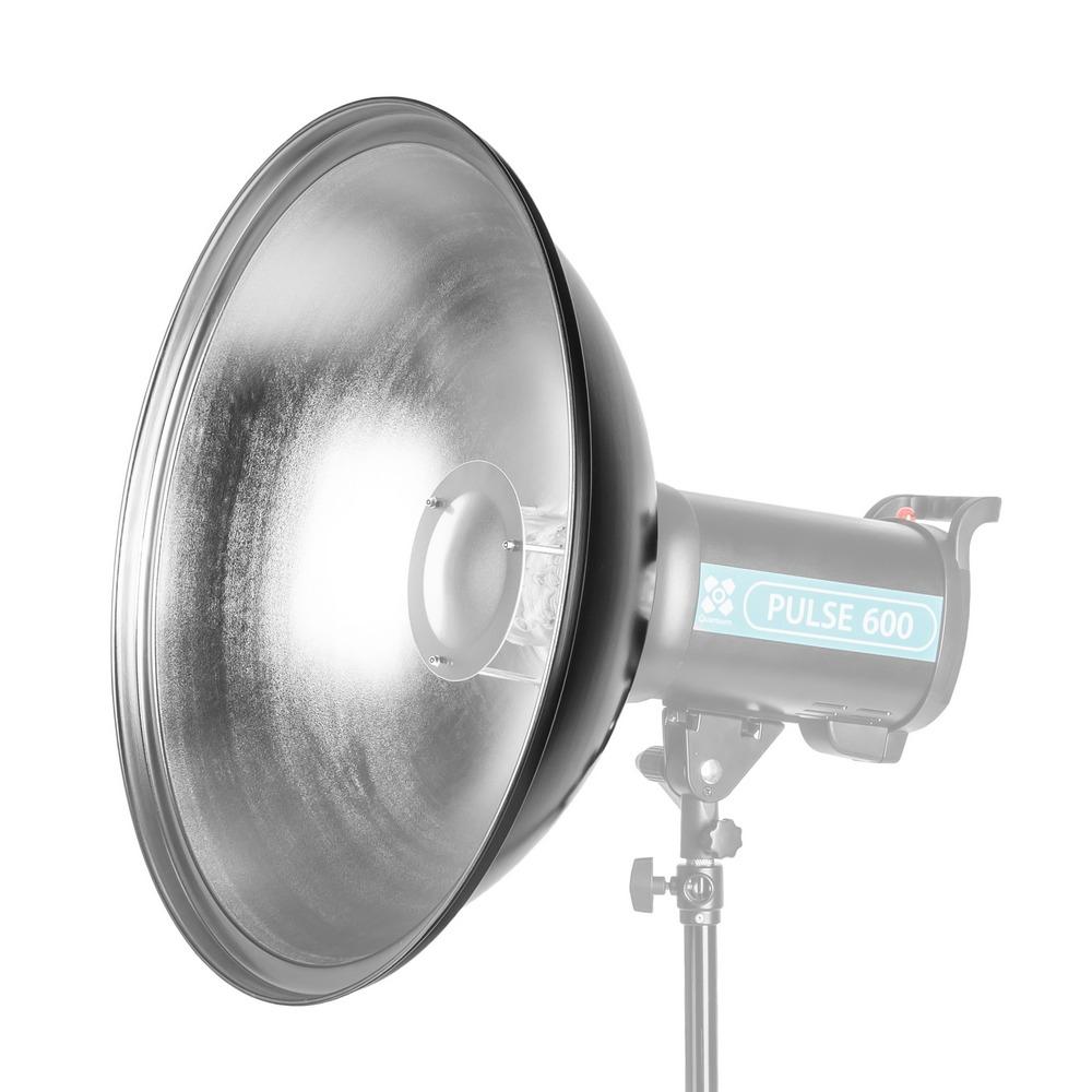 Quadralite Beauty Dish 55cm - czasza srebrna / mocowanie typu Bowens Quadralite Beauty Dish 55cm / srebrna