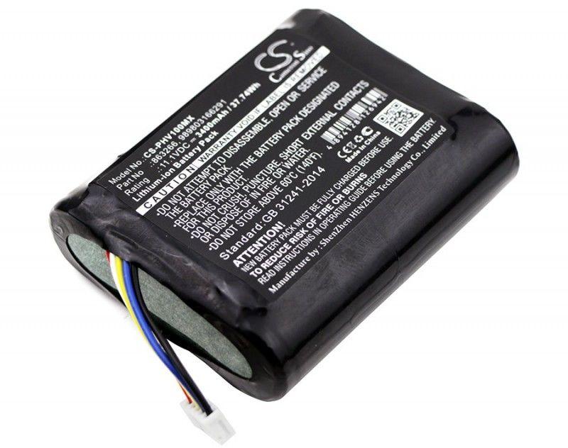 Philips Monitor VS1 / 45356424350I 3400mAh 37.74Wh Li-Ion 11.1V (Cameron Sino)