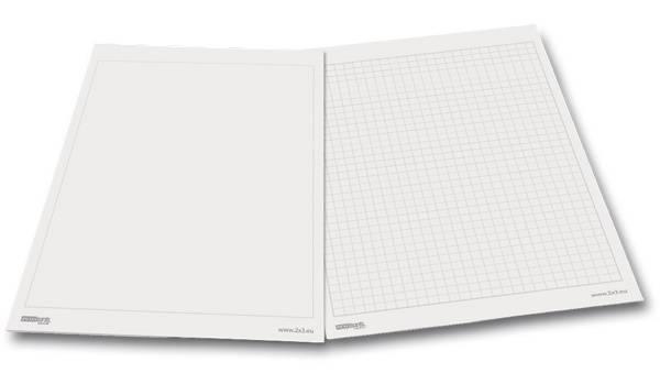 Blok do flipchartu 58x83cm gładki - X04000